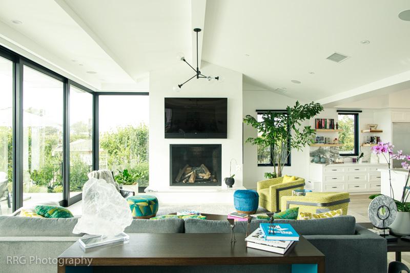 Interior Living Room Corona del Mar Home