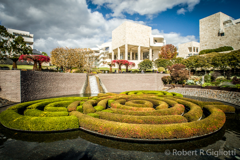 The Getty Gardens Photo by RRG Photography